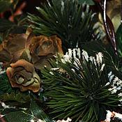 Подарки к праздникам handmade. Livemaster - original item Christmas interior arrangement. Handmade.