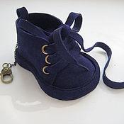 Сумки и аксессуары handmade. Livemaster - original item Leather accessories keychain pendant for bag,in the car CUTE BOOTIES-2. Handmade.