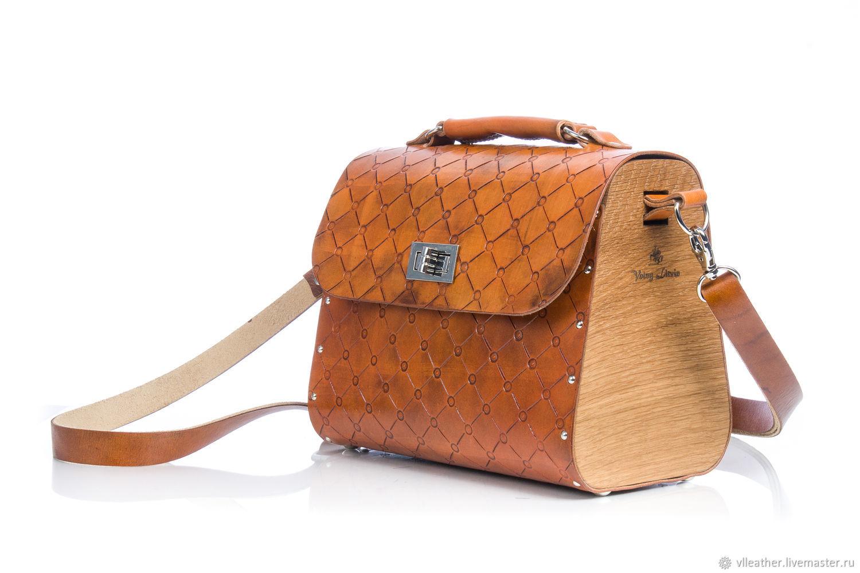 Женская сумка, сумка с тиснением в стиле chesterfield, Классическая сумка, Минск,  Фото №1