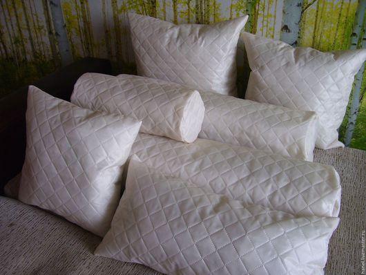 Текстиль, ковры ручной работы. Ярмарка Мастеров - ручная работа. Купить Подушка. Handmade. Бежевый, валик, большоой валик