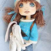 Куклы и игрушки ручной работы. Ярмарка Мастеров - ручная работа кукла Женька. Handmade.