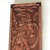 """Сувениры и подарки ручной работы. Ярмарка Мастеров - ручная работа Резные нарды """"Спарта"""". Handmade."""