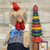 Куклы и игрушки ручной работы. Ярмарка Мастеров - ручная работа Петушок.Петушок..Золотой гребешок .... Handmade.