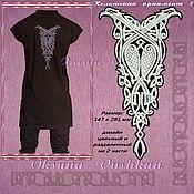 """Схемы для вышивки ручной работы. Ярмарка Мастеров - ручная работа Дизайн  машинной вышивки """"Кельтский орнамент 1"""". Handmade."""