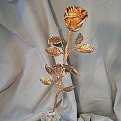 Для дома и интерьера ручной работы. Ярмарка Мастеров - ручная работа Медная роза. Handmade.