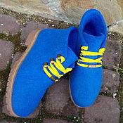 Обувь ручной работы. Ярмарка Мастеров - ручная работа Ботиночки Весенние. Handmade.
