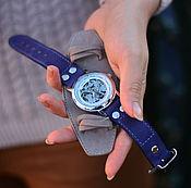 """ручной работы. Ярмарка Мастеров - ручная работа Часы наручные """"Grey"""" ( 2в1 ). Handmade."""