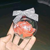 Игрушки ручной работы. Ярмарка Мастеров - ручная работа Новогодняя игрушка. Handmade.