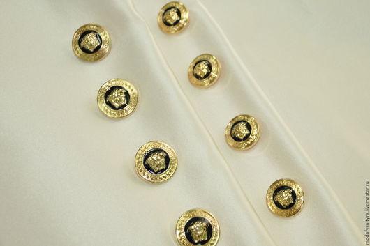 """Шитье ручной работы. Ярмарка Мастеров - ручная работа. Купить Пуговица пришивная в стиле """"Versace"""". Handmade. Пуговицы для одежды"""