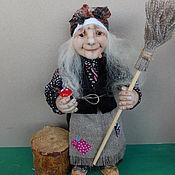 Куклы и игрушки handmade. Livemaster - original item interior doll: grandma d Gulechka. Handmade.