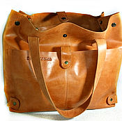 Сумки и аксессуары handmade. Livemaster - original item Bag ,large, genuine leather,
