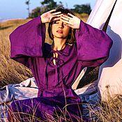Одежда handmade. Livemaster - original item Dresses: linen dress
