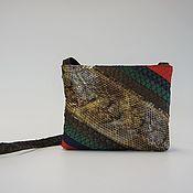 """Сумка через плечо ручной работы. Ярмарка Мастеров - ручная работа Сумка из кожи рыбы и змеи """" Африка"""". Handmade."""