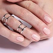 Украшения handmade. Livemaster - original item Double ring on the phalanges. Handmade.