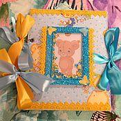 Подарки к праздникам ручной работы. Ярмарка Мастеров - ручная работа блокнот мамины заметки Мишки. Handmade.