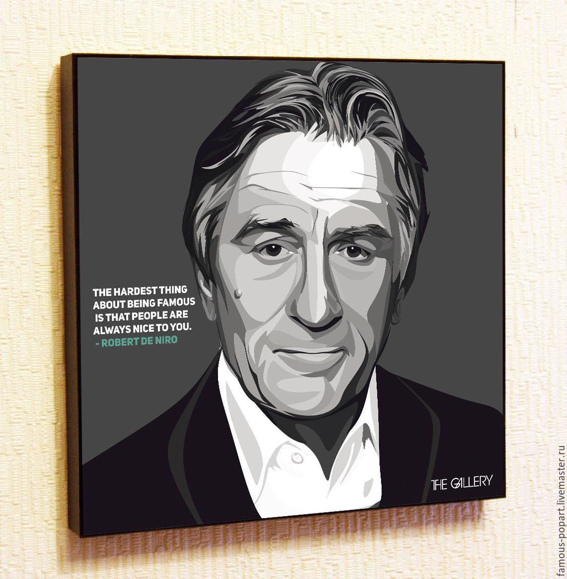 Picture Poster Robert De Niro Pop Art, Fine art photographs, Moscow,  Фото №1