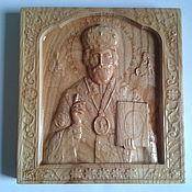 Картины и панно ручной работы. Ярмарка Мастеров - ручная работа Икона Николая Чудотворца. Handmade.