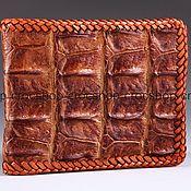 Сумки и аксессуары handmade. Livemaster - original item The alligator purse braided IMA0213UK3. Handmade.