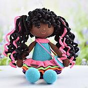 Куклы и пупсы ручной работы. Ярмарка Мастеров - ручная работа Темнокожая кукла. Handmade.