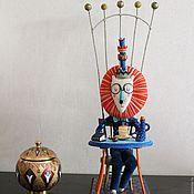 Куклы и игрушки ручной работы. Ярмарка Мастеров - ручная работа Царь Лев. Handmade.