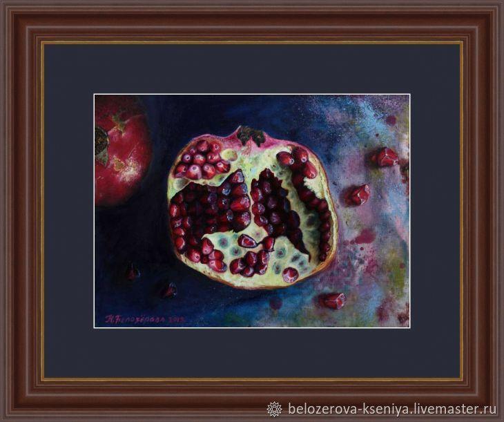 Натюрморт в кухню. Картина с гранатом. Натюрморт с гранатом, Картины, Ростов-на-Дону,  Фото №1