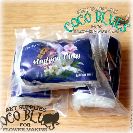 Свежая глина Modern Clay (Blue label)  `Кокосов Блюз` Таиланд  (c) Coco Blues (Thailand) Co. Ltd
