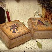 Для дома и интерьера handmade. Livemaster - original item set of boxes-boxes