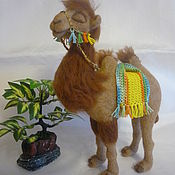 Куклы и игрушки ручной работы. Ярмарка Мастеров - ручная работа Верблюдица. Handmade.