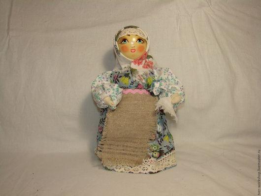 Ткачество ручной работы. Ярмарка Мастеров - ручная работа. Купить Тряпичная Кукла. Handmade. Белый, дерево, ольха, тряпка