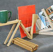 Дизайн и реклама ручной работы. Ярмарка Мастеров - ручная работа Подставка с произвольной геометрией. Handmade.