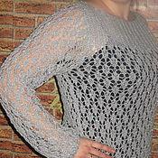 Одежда ручной работы. Ярмарка Мастеров - ручная работа свитер - Лёгкость. Handmade.