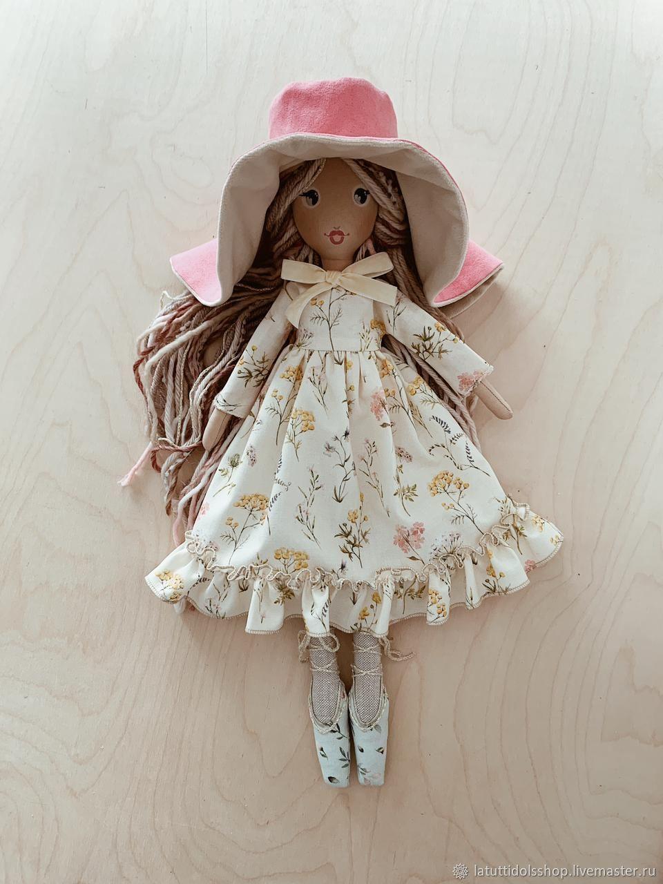"""Текстильная кукла """"Балерина"""" 46 см, Куклы и пупсы, Тосно,  Фото №1"""