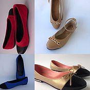 Обувь ручной работы handmade. Livemaster - original item ballet flats. Handmade.