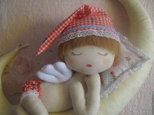 """Сказочные персонажи ручной работы. Ярмарка Мастеров - ручная работа. Купить текстильная интерьерная игрушка  """" Хранитель снов"""" сплюшка. Handmade."""
