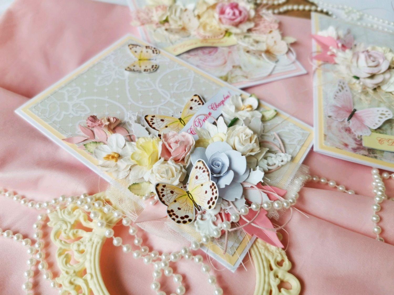 Радужная открытка на свадьбу