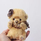 Куклы и игрушки ручной работы. Ярмарка Мастеров - ручная работа Адель, мишка тедди 14 см. Handmade.
