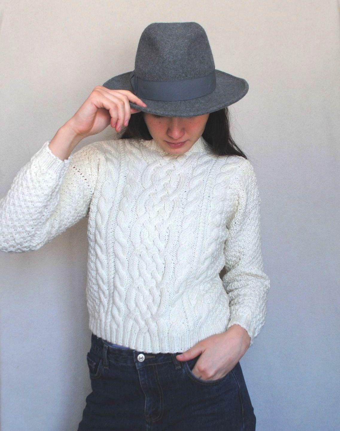 """Sweater """"White mood""""  merino italian wool, Sweaters, Ulan-Ude,  Фото №1"""