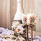 Подарки для влюбленных ручной работы. Ярмарка Мастеров - ручная работа. Купить Свадебный набор в стиле рустик. Handmade. Свадьба
