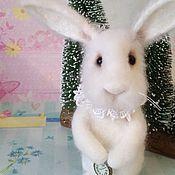 Куклы и игрушки ручной работы. Ярмарка Мастеров - ручная работа Белый кролик РЕЗЕРВ. Handmade.