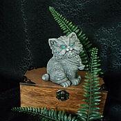 Фен-шуй и эзотерика handmade. Livemaster - original item Runic guardian cat.. Handmade.