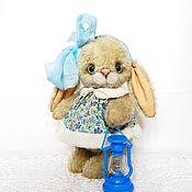 Куклы и игрушки ручной работы. Ярмарка Мастеров - ручная работа Зайка тедди Светик. Handmade.