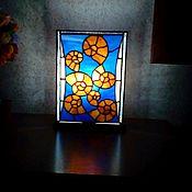 Для дома и интерьера ручной работы. Ярмарка Мастеров - ручная работа Витражные светильники. Handmade.