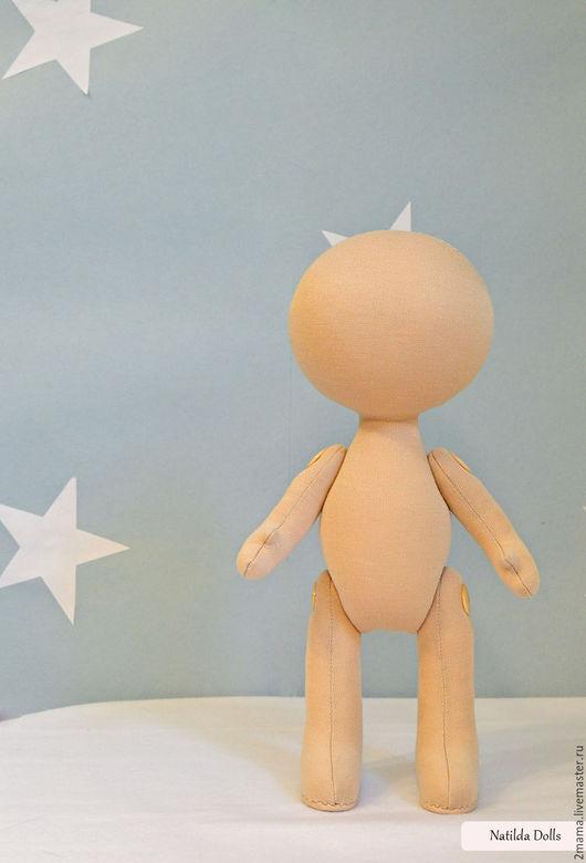 Заготовка 30 см светлая для кукол большеножек