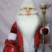 Куклы и игрушки handmade. Livemaster - original item Folk doll: Doll Santa Claus. Handmade.