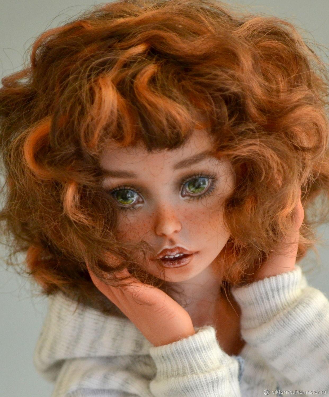 Маруся фарфоровая шарнирная кукла, Шарнирная кукла, Саратов,  Фото №1