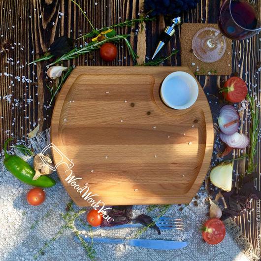 Декоративная посуда ручной работы. Ярмарка Мастеров - ручная работа. Купить АРТ. №2. Handmade. Доски для подачи, Изделие из дерева