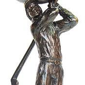 """Посуда ручной работы. Ярмарка Мастеров - ручная работа """"ГОЛЬФ"""" набор из 2х бокалов, подарок для гольфиста. См. описание.. Handmade."""