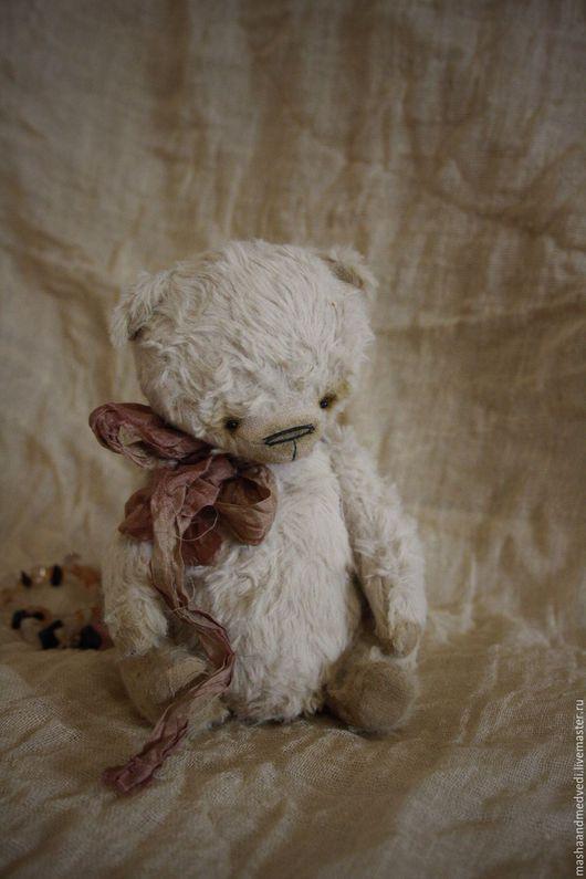 Мишки Тедди ручной работы. Ярмарка Мастеров - ручная работа. Купить Глафира. Handmade. Бежевый, шебби