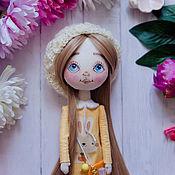 """Куклы и игрушки ручной работы. Ярмарка Мастеров - ручная работа Авторская кукла """"Мечтательная зайка"""". Handmade."""