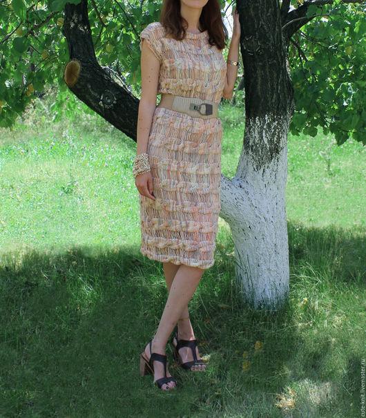 Чтобы лучше рассмотреть модель, нажмите на фото CUTE-KNIT Ната Онипченко Ярмарка мастеров Купить вязаное платье